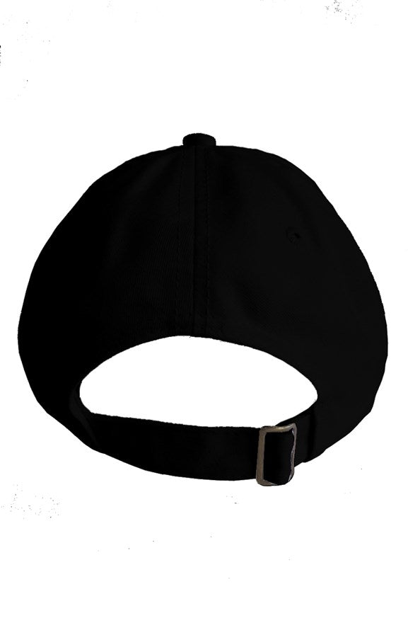 SNAKE 8 DAD HAT BLACK - dripeight