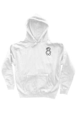 CONCEIVED IN NYC HOODIE WHITE