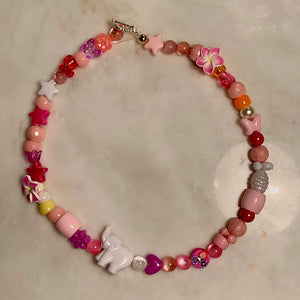 Handmade Chunky Beaded Necklace