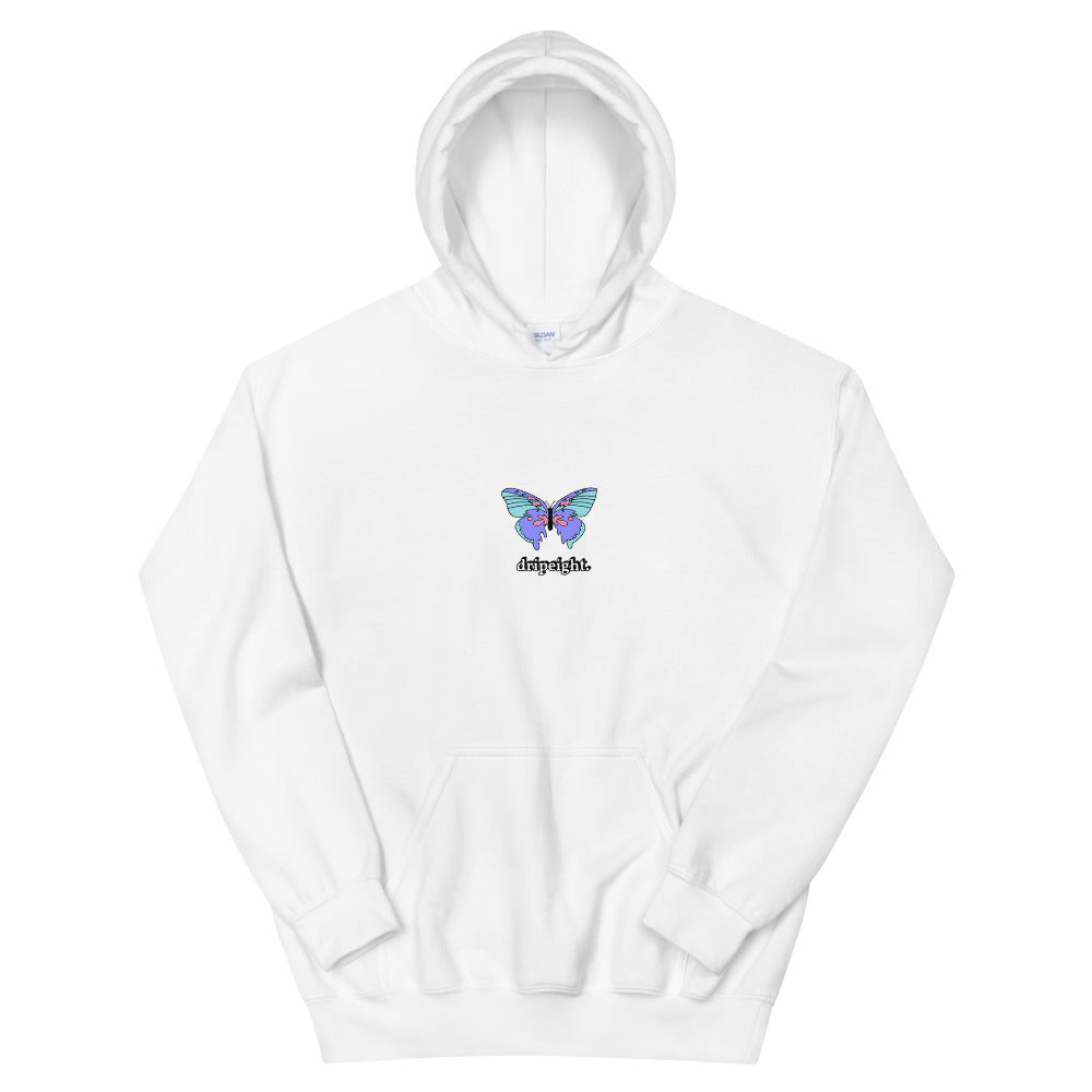 Unisex Dripping Butterfly Hoodie