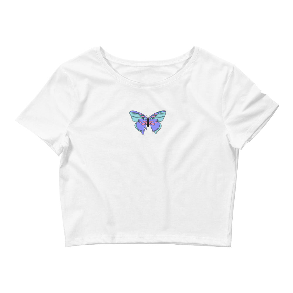 dripping butterfly top