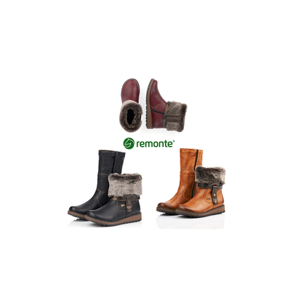 Remonte Fold Over Winter Boot