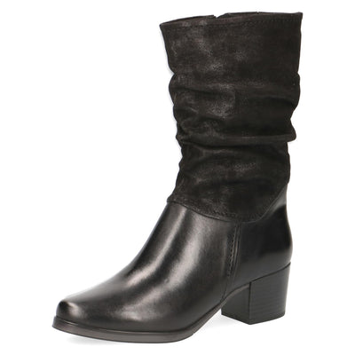 Caprice, Orla, black high ankle boot