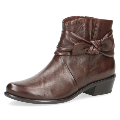 Caprice, Jessica, dark brown ankle boot