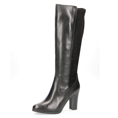 Caprice, Zara, black knee length boot