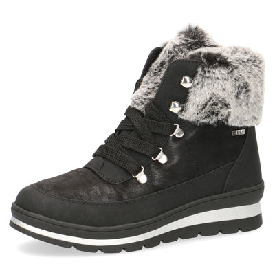 Caprice, Ivy, black winter boot