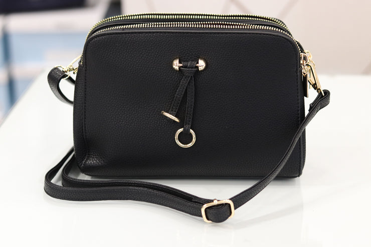Accessories | Natasha Black Bag
