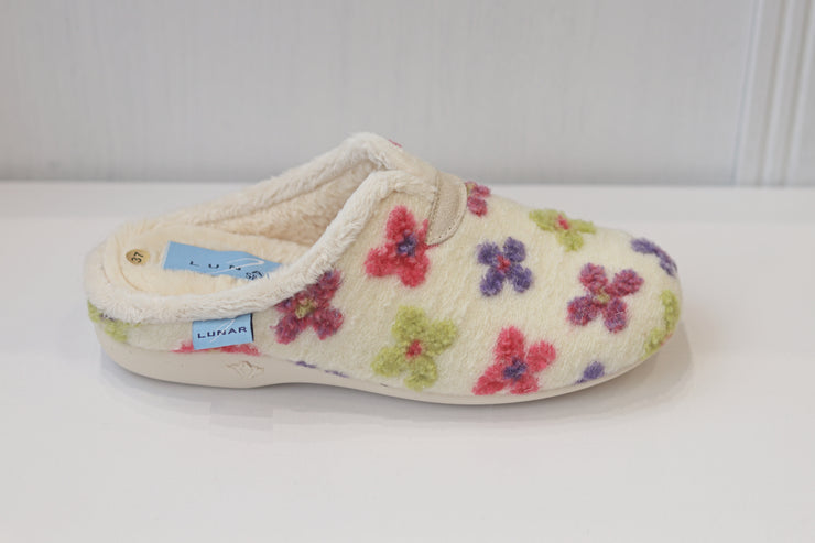 Lunar, Pansy slipper, White