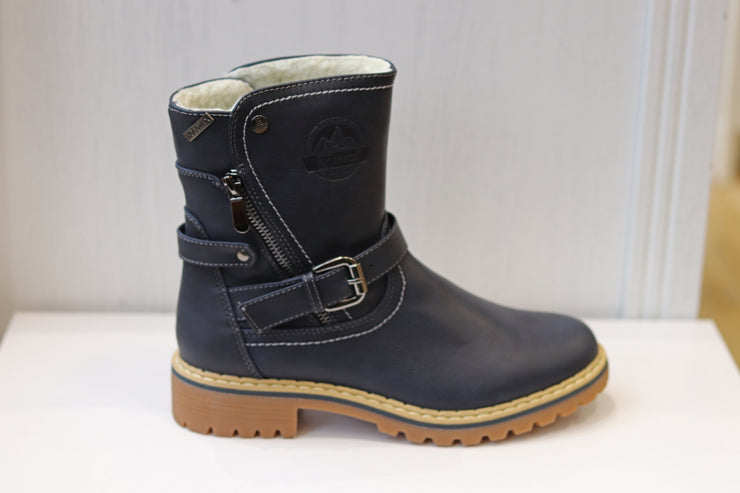 Hengst, navy casual winter boot