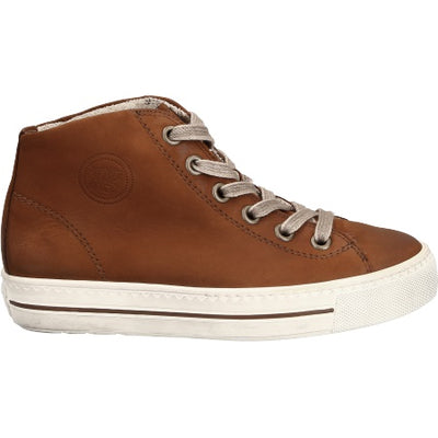 Paul Green, Royal Nubeck Cognac, brown suede casual shoes