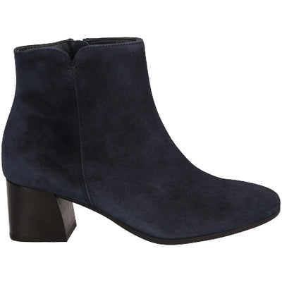 Paul Green navy suede ankle boots