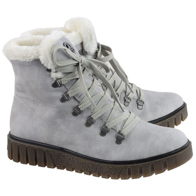 Rieker, Bianca, grey winter boot