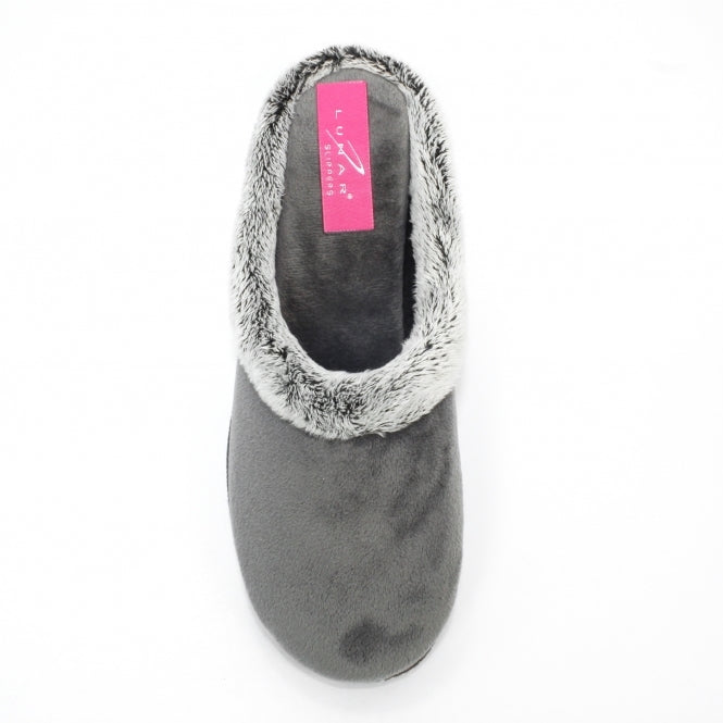 Lunar, Jolt slipper, Grey