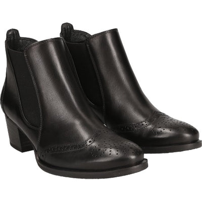 Paul Green, Softcalf, black leather ankle boot