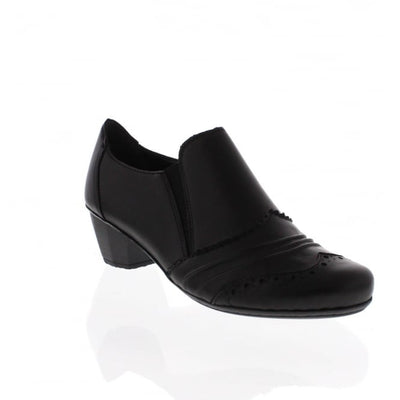 Rieker, Antonia, black casual shoe