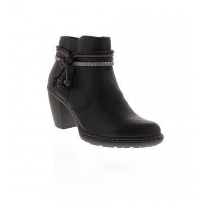 Rieker, Abigail, black ankle boot