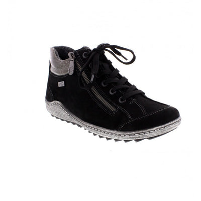 Remonte, Vina, black trainer boot
