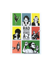Load image into Gallery viewer, Rad American Women A-Z Postcards