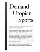 Load image into Gallery viewer, Demand Utopian Sports