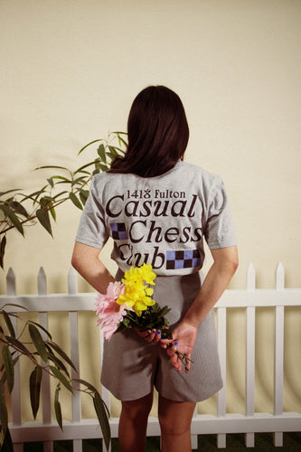 Casual Chess Club T Shirt