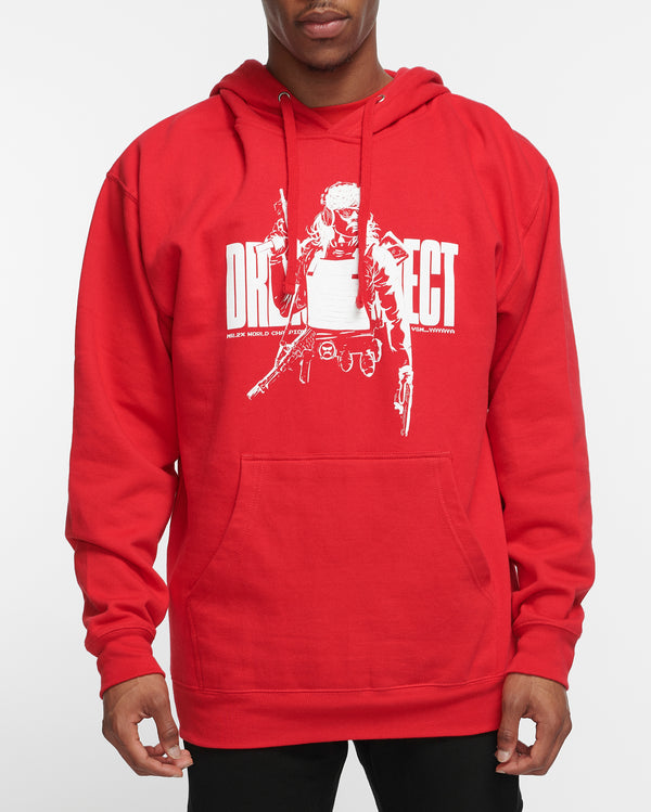 Divine Being - Red Hoodie