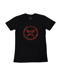 YOUTH Topography - Black Tee
