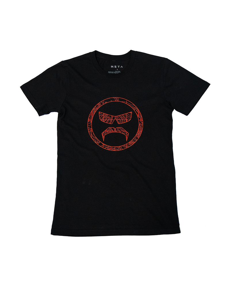 Topography - Black Tee