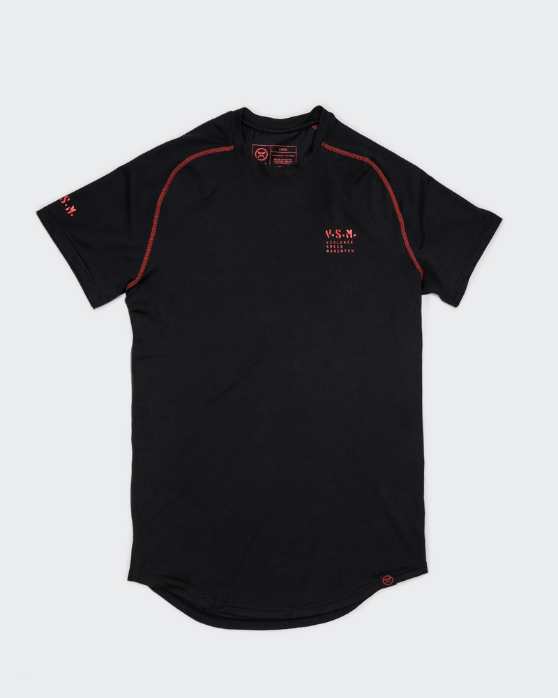 VSM Athletic Tee - Black