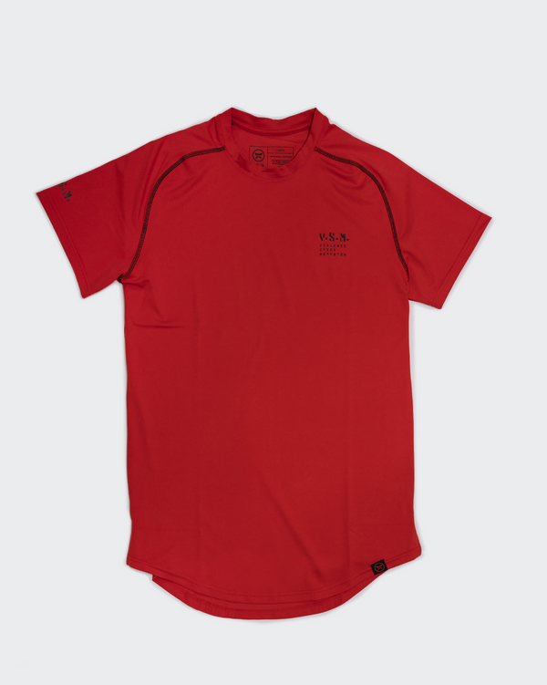 VSM Athletic Tee - Red