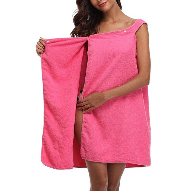 Microfiber Beach Towel Wearable - HeadlineBedding