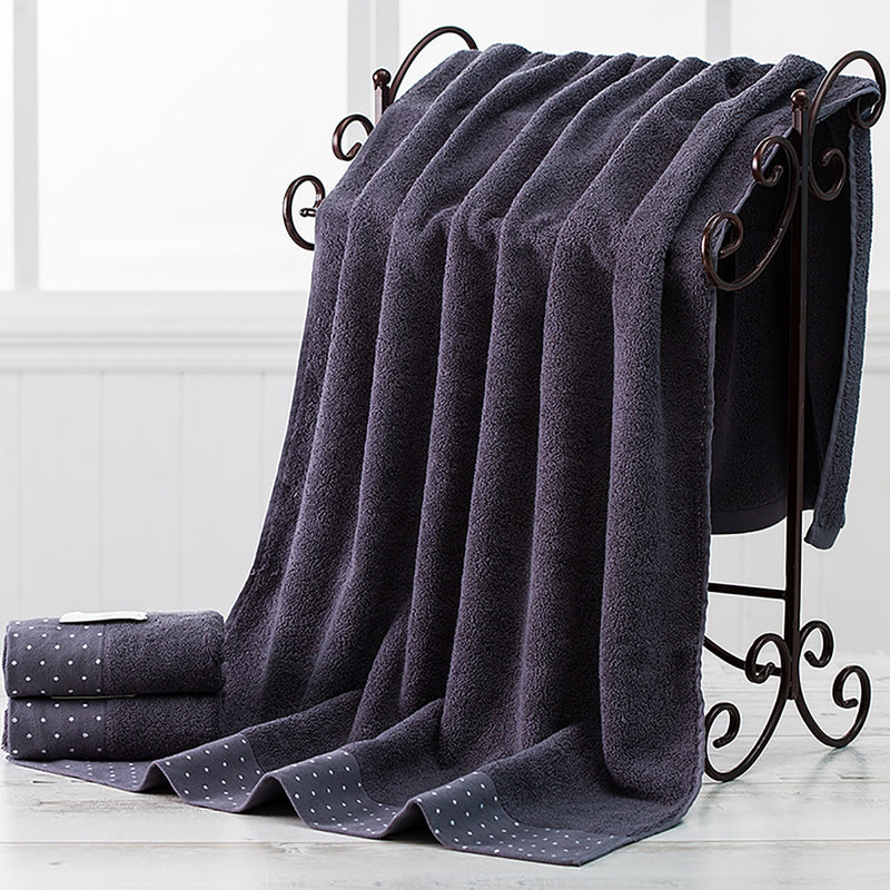 3pcs a Set Soft Cotton Bath Towels - HeadlineBedding