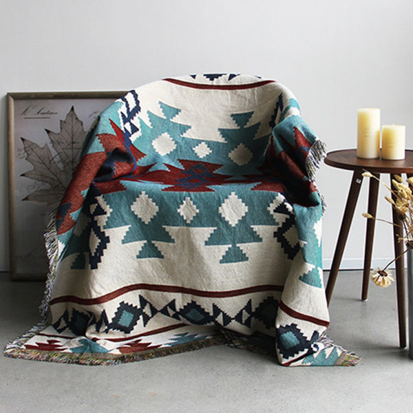 High Quality Sofa Blanket Bohemian Cotton