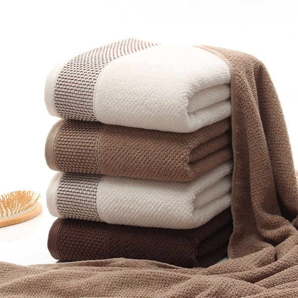 Bath Towel Set Soft 100% Cotton - HeadlineBedding