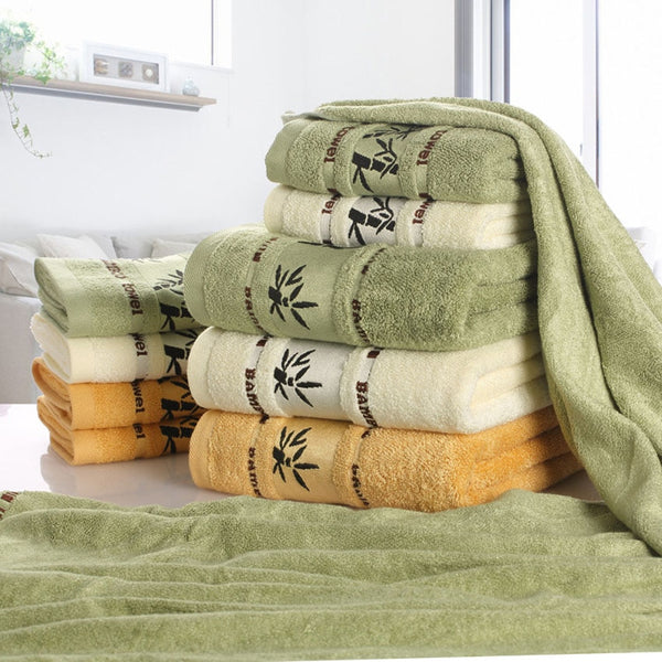 Bamboo Fiber Towels Set - HeadlineBedding