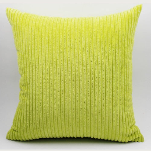Striped Corduroy sofa cushion cover throw pillow cover decorative pillow case