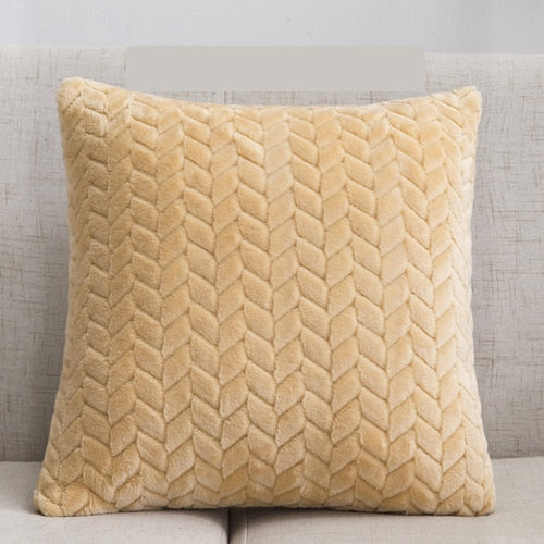 Soft Plush Decorative Pillows Pillow Case - HeadlineBedding