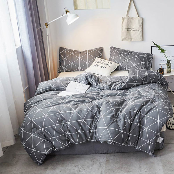 Simple Quilt Blanket Quilted Plaids - HeadlineBedding