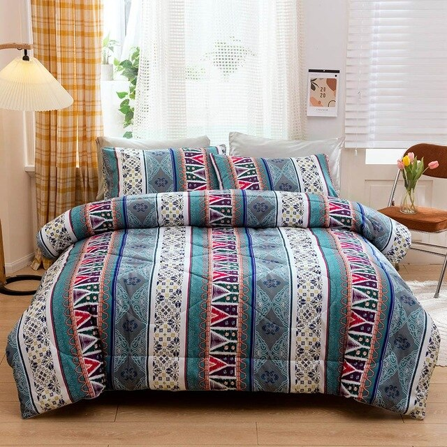 Bohemian Thick Plaid Blanket - HeadlineBedding