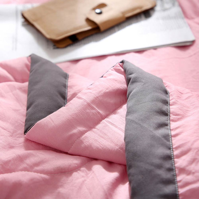 Thin Quilted Quilt Summer Comforter - HeadlineBedding