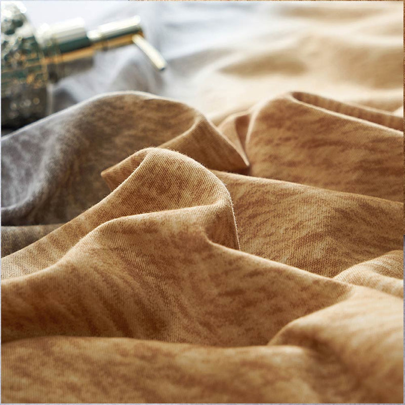 Sanding Cotton Bedding Set Printed White - HeadlineBedding