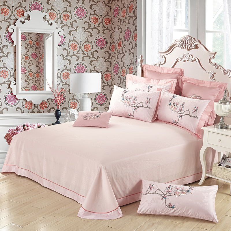100% Egypt Cotton Silky Luxury Royal  Bedding Set - HeadlineBedding