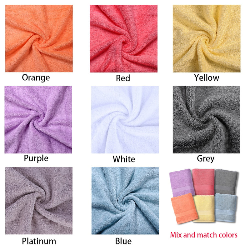 Luxury Bath Towel Cotton Highly Absorbent Bathroom Towels
