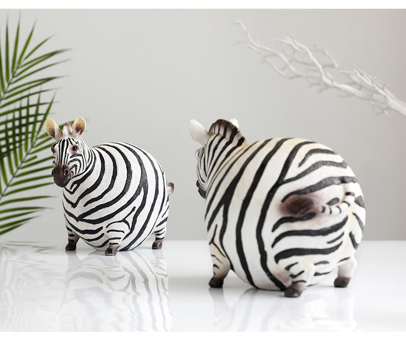 Zebra Figurine, Home Decor - HeadlineBedding