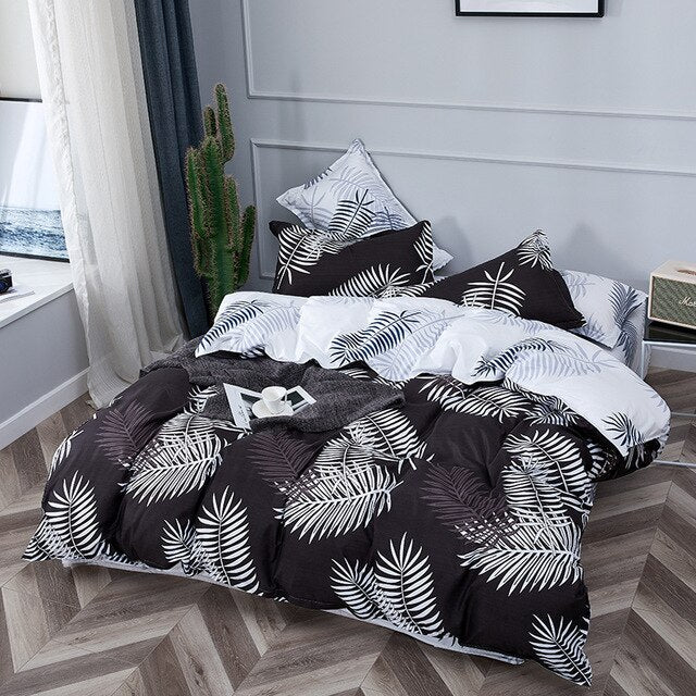Bedding Set Luxury Geometric Stripes - HeadlineBedding