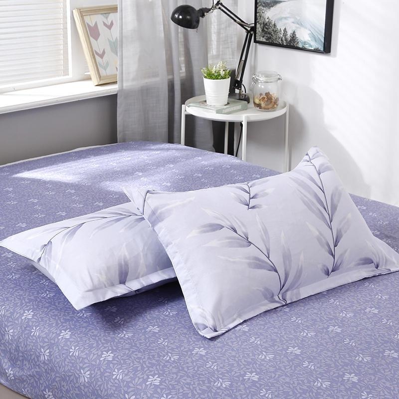Plant / Flower printed bed linens set 2
