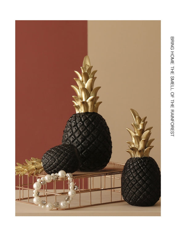 Nordic Pineapple Ornament Creative Fruit Shape Living Room Decor
