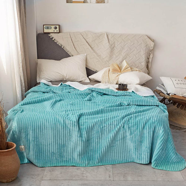 Warm Throws Blanket Sherpa Sheet