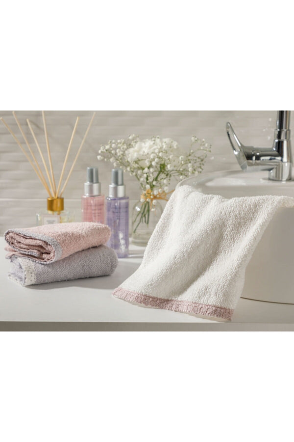100% Cotton Ultra Soft Hand Bath Thick Towel Bathroom Ultra Absorbent