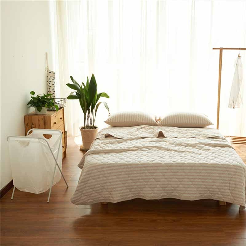 100% Pure natural organic cotton super  bedding set  blanket