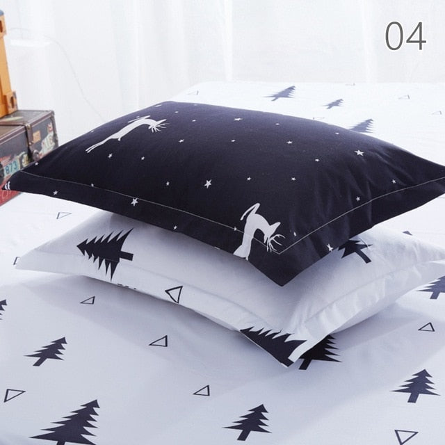 Pillowcase Decorative Pillow Cover Bedding for Hotel